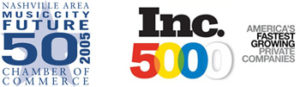 nashville area future 50 logo and inc 5000 logo